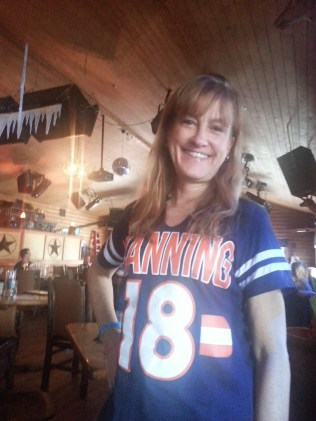 Let's see if this jersey still brings luck to Denver...NOT!!