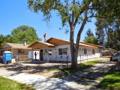 Idaho Falls Habitat for Humanity Build, second week