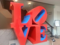 """The 1960's work of Robert Indiana that """"accidentally"""" became the symbol of the 1960's Youth Movement."""