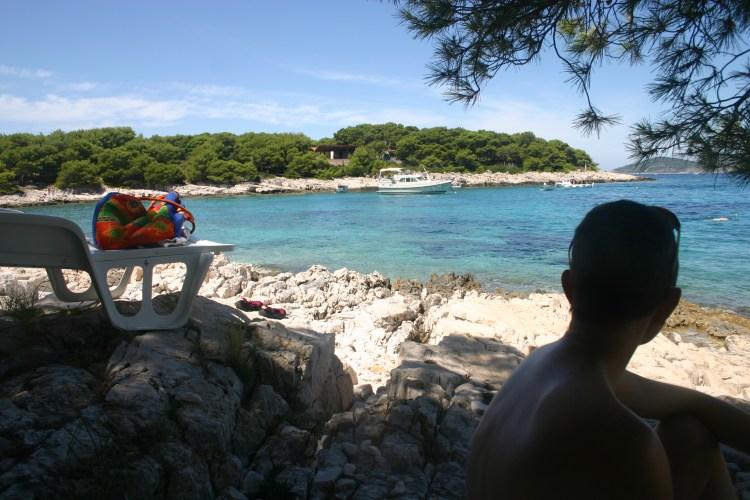 Beach day on Jerolim