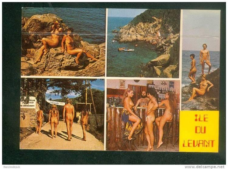 A vintage postcard from Cap d'Agde