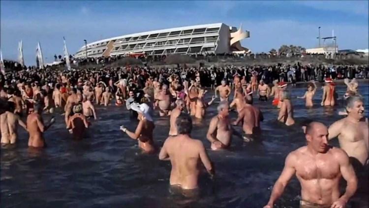 A sea of nakedness at Cap d'Agde