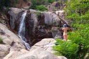 At the U-Furu falls in Corisa