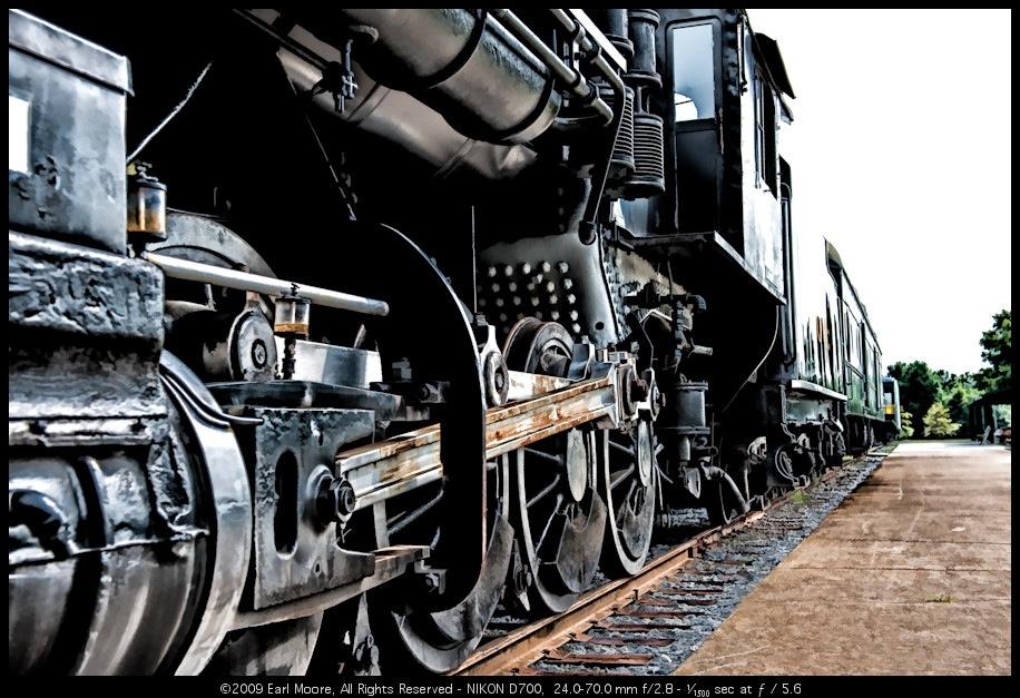 Spencer: North Carolina Transportation Museum – Meandering