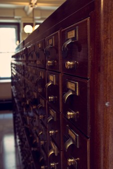 George Peabody Library Card Catalog