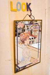 Woman on Mirror