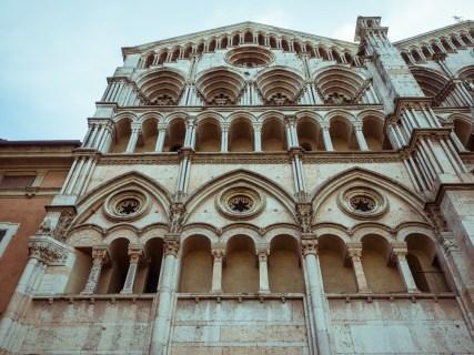 Exterior of Ferrara Cathedral