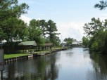 Houses along the Bayou. What a great place to live. Minus the hurricanes and humidity of course.
