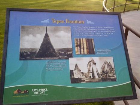 Tepee Fountain - 100+ years in the making