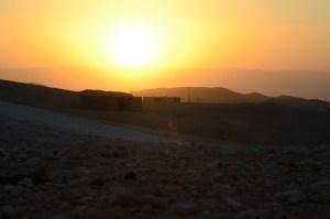 Judean sunrise