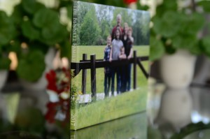 Spine of a photo book, Babs Mullinax, me and grace, me & grace, Fort Wayne photographer, photo gifts, lifestyle photography, family photos, ideas for family photos, indoor photography, fun family photographer, long-distance family