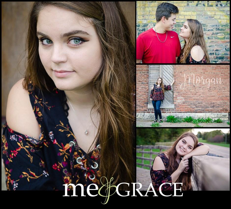 senior girl photos with boyfriend