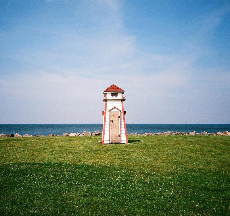 Lighthouse shed