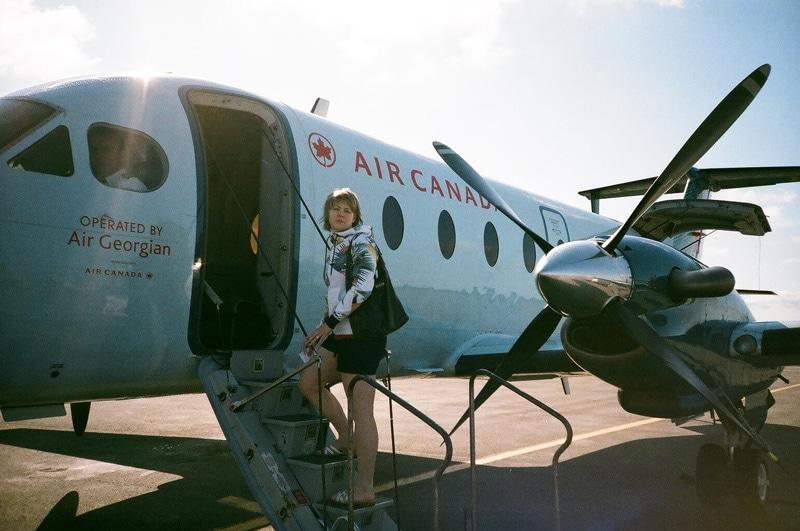 Flight to Newfoundland