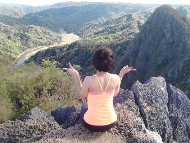 Overloking Wawa River and Mt. Binacayan