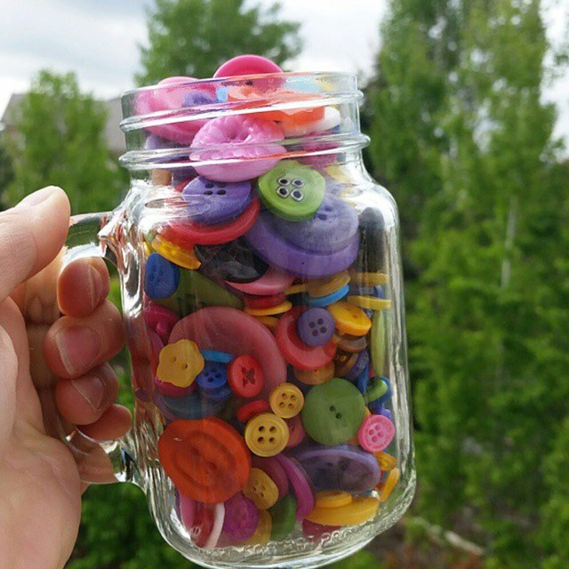 CHEERS and Yay BUTTONS!  These are my colors that you can get at @acmoorecrafts (in the stores)  to create oodles of awesomeness!  What would you make first? #laurakellybuttons #buttons