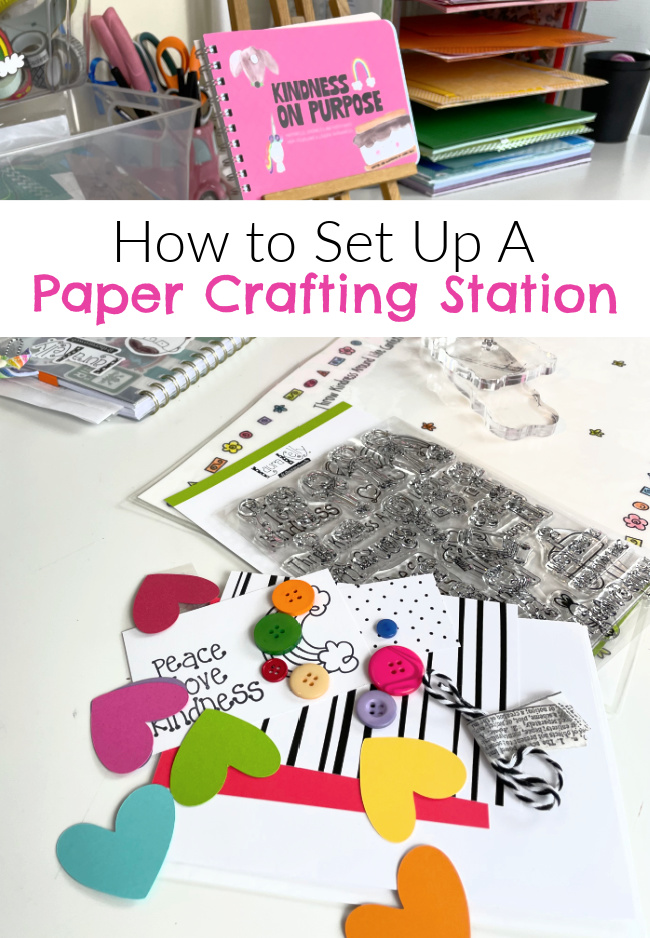 How-to-Set-up-a-Paper-Crafting-Station