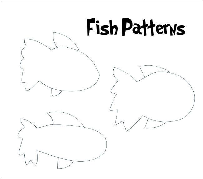 Dr. Seuss Free Pattern Fish
