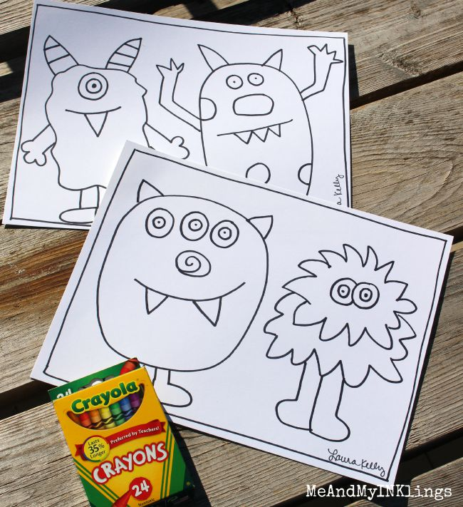 Monster_Doodle_Printable