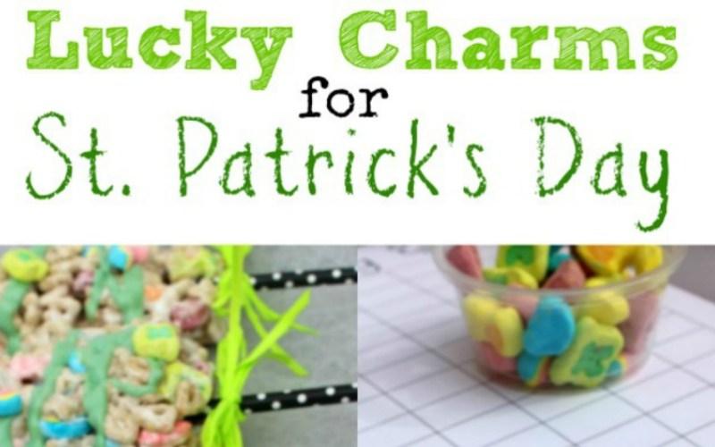 Lucky Charms Printable