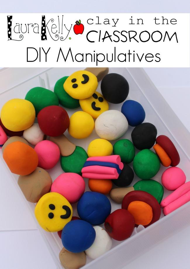 Clay in the Classroom DIY Manipulatives