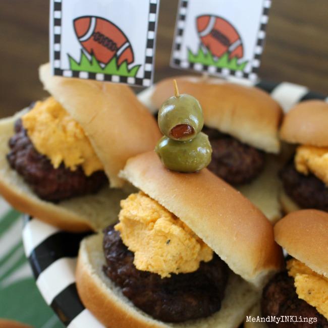 Game Day Beer Cheese Sliders SQ