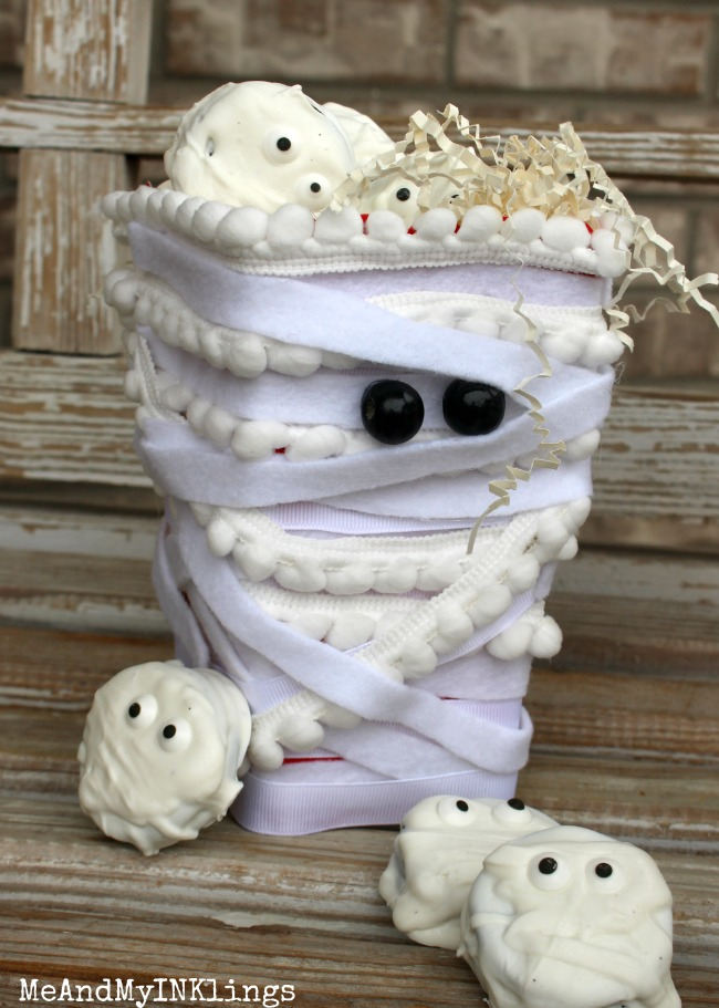 Mummy Popcorn Box