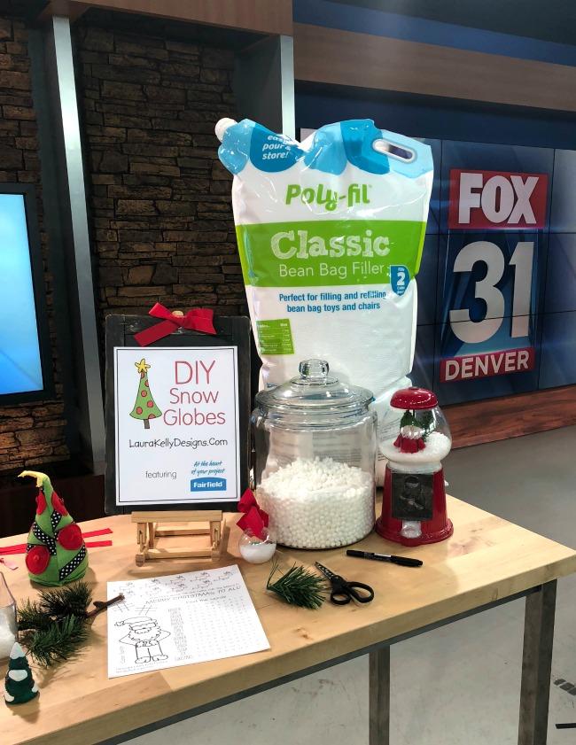 DIY Snow Globes Poly Pellets Fairfield World Fox News