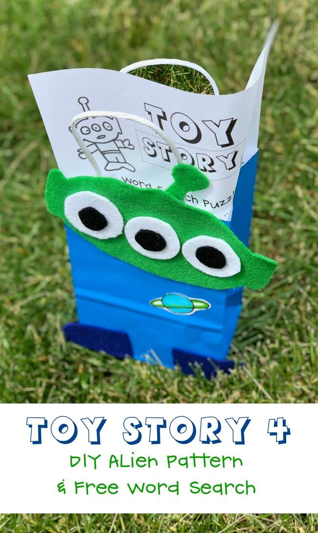 DIY Toy Story Alien Craft for Kids