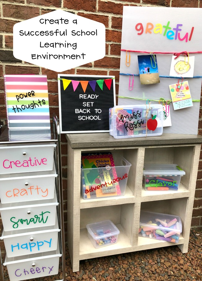 Create a Succesful School Learning Environment
