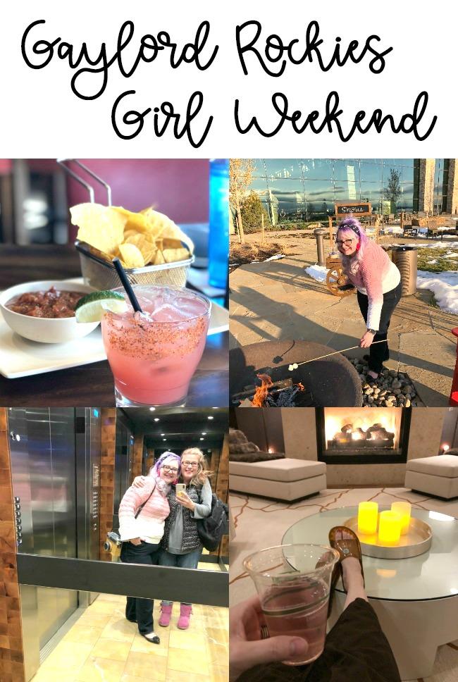 Gaylord Rockies Girl Weekend Getaway