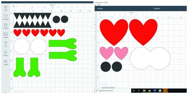 Cricut Valentine Box Bags SVG FIles