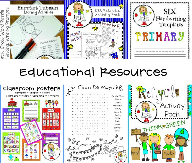 Educational Resources Free Printables