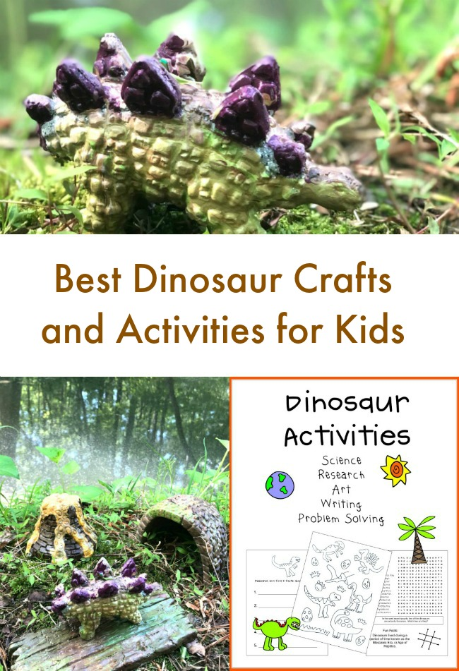 Best Dinosaur Crafts and Printables for Kids