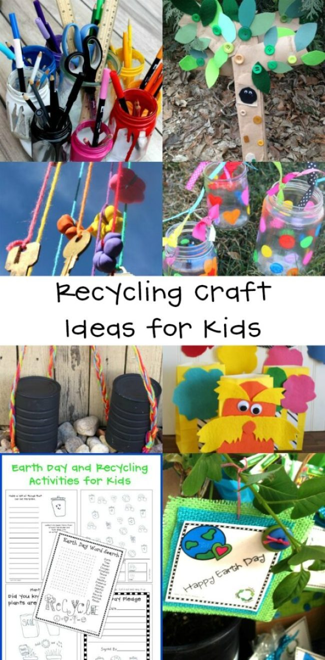 Best Recycling Craft Ideas for Kids
