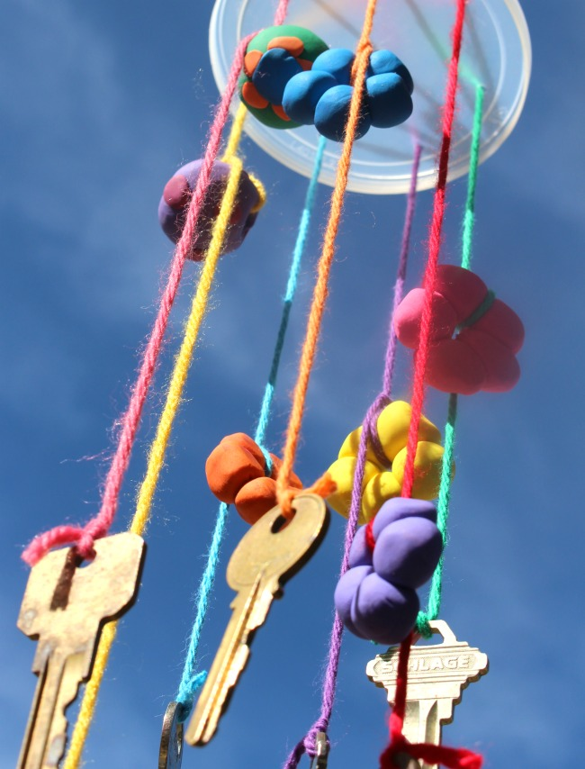 Recycled Keys Wind Chime Recycled Kid Craft