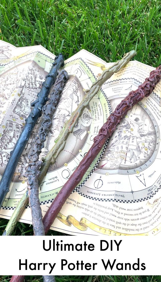 Ultimate DIY Harry Potter Wands