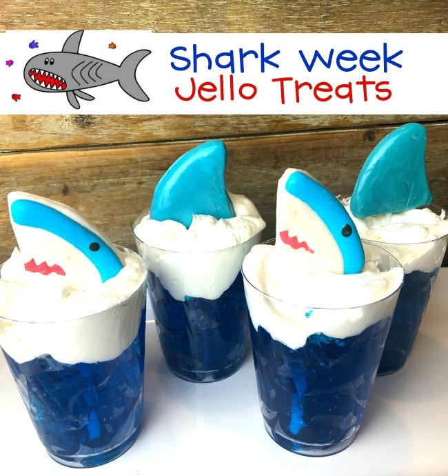 Shark Week Jello Treats