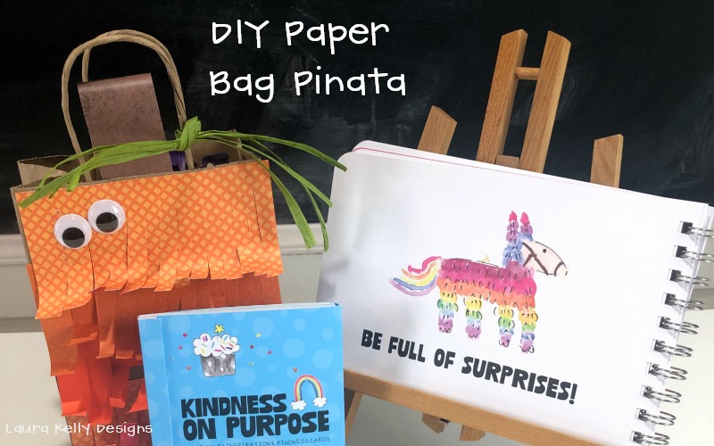 Paper Bag Pinata Craft