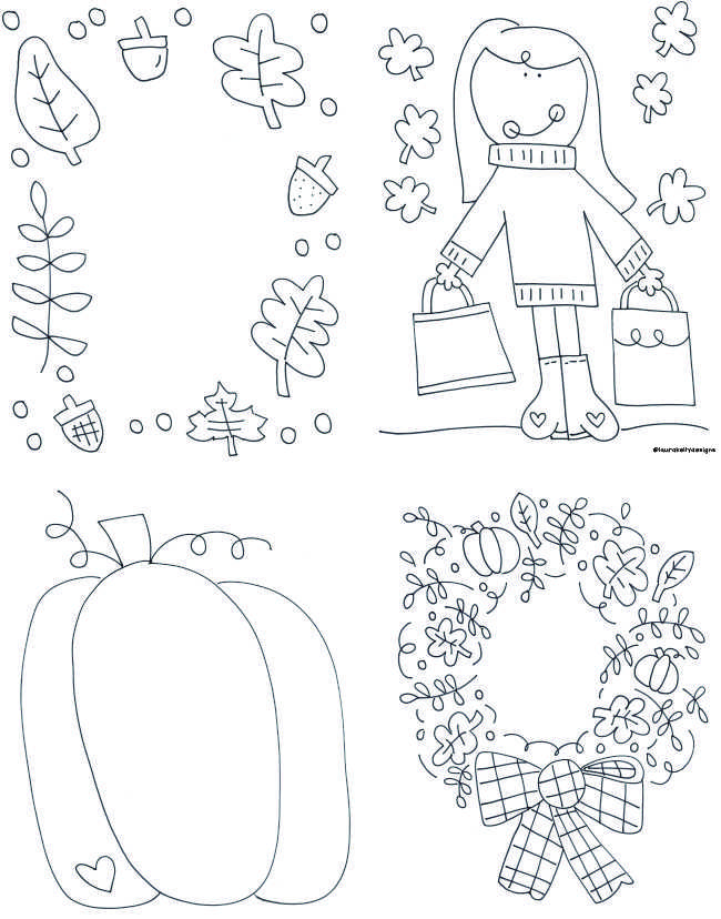 Fall Coloring Printable Free Activities