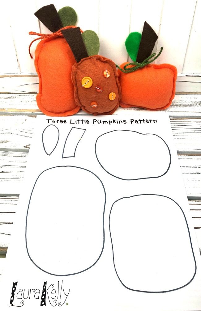Free Printable Pumpkin Pattern