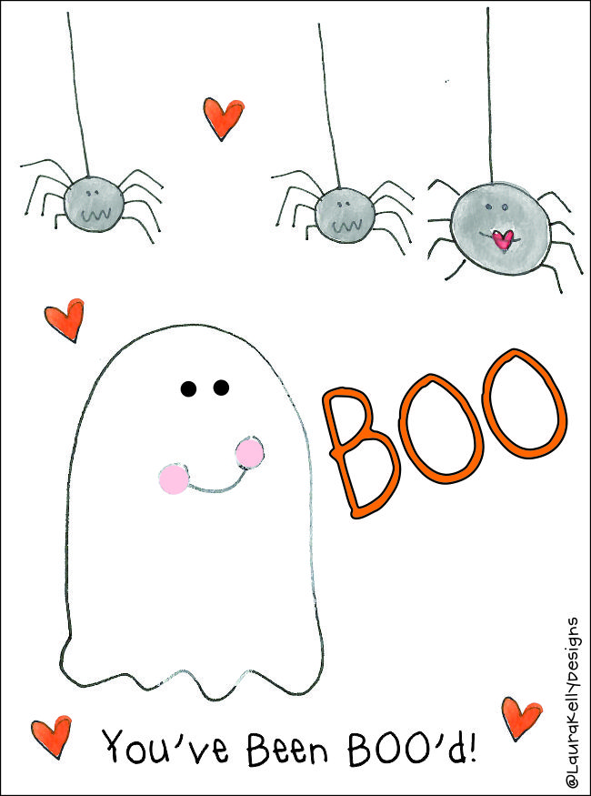 You've Been Boo'd Free Printable Tag