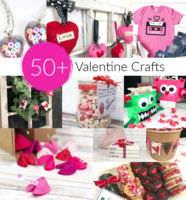 Best 50 Valentine Crafts