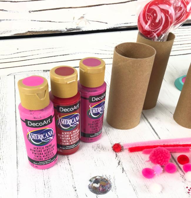 DecoArt Americana Acrylic Paint Valentine Colors