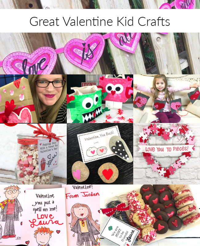 Great Valentine Kid Crafts