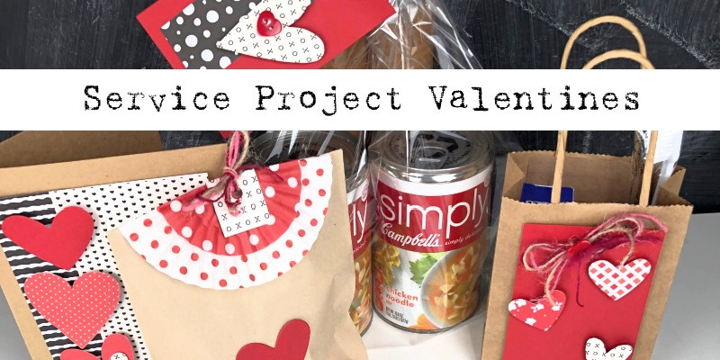 Service Project Valentines for Kids