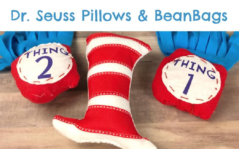Dr. Seuss Pillow Reading Buddies