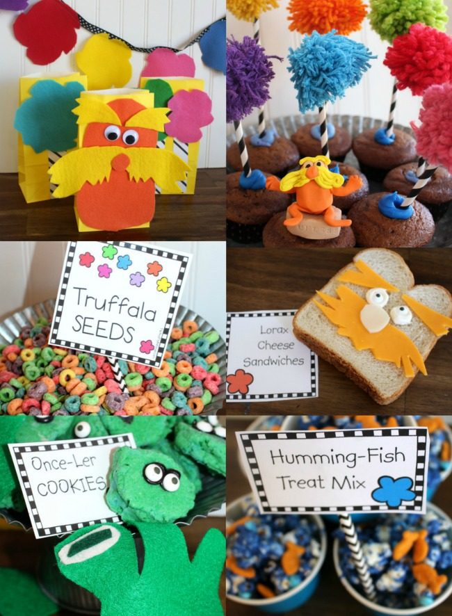 Lorax Party Time Free Printables