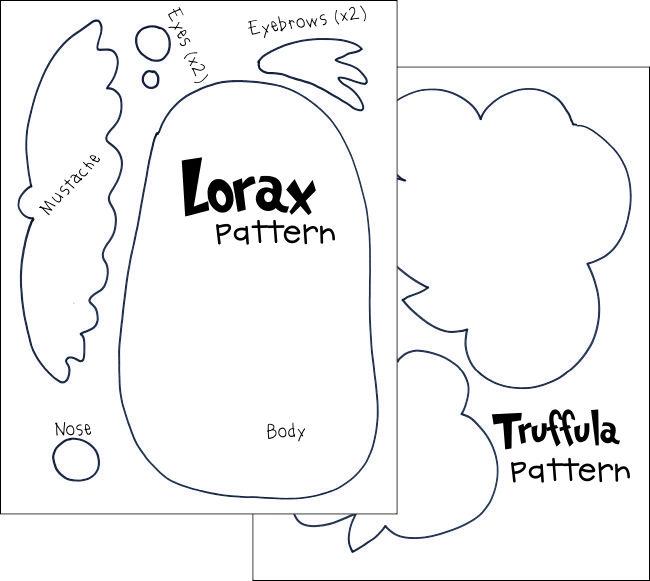 Free Printable Lorax Patterns