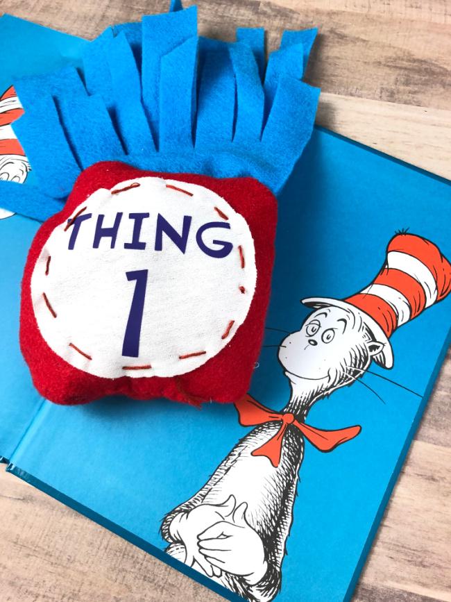 Thing One Dr Seuss Bean Bag